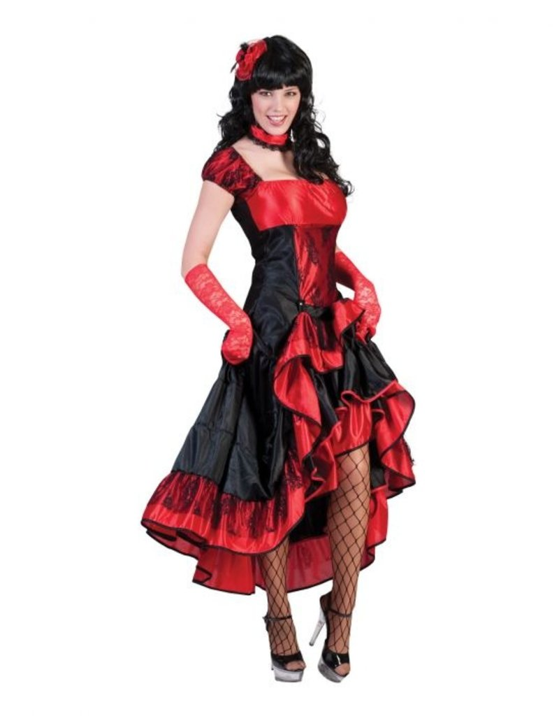 Funny Fashion Moulin rouge saloon girl outfit Abigail dames