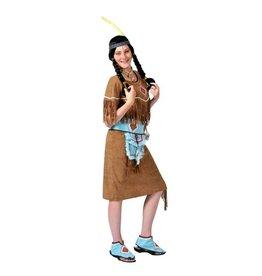 Funny Fashion Indianen jurkje Malia vrouw