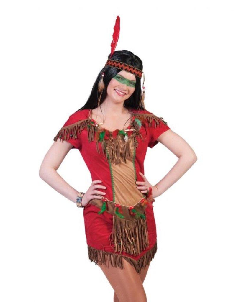 Funny Fashion Indianen kostuum Kiowa dames