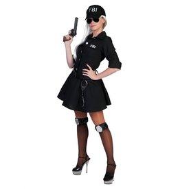 Funny Fashion Stoere FBI-agent pakje Caroline dames