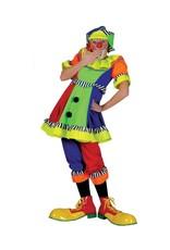 Funny Fashion Clown kostuum Pierina dames