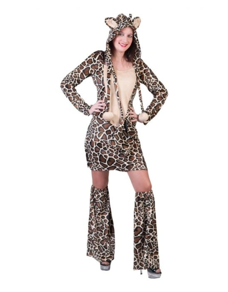 Funny Fashion Giraffe jurk Asali dames