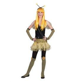 Funny Fashion Tiener bijen rok kostuum meiden