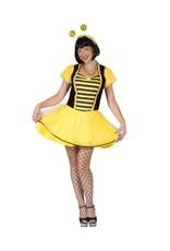 Funny Fashion Bijen jurk Sumsel dames kostuum