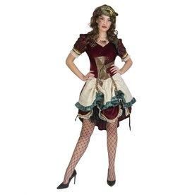 Funny Fashion Steampunk kostuum Victoria dames