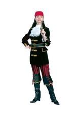 Funny Fashion Piraat kostuum Jessica dames