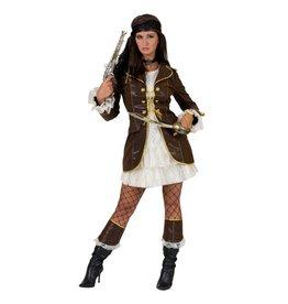 Funny Fashion Piraten kostuum Florence dames