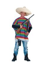 Funny Fashion Mexicaanse poncho Salvador dames heren