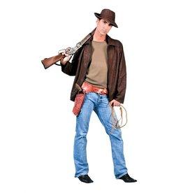 Funny Fashion Avonturier Indiana Jones kostuum heren