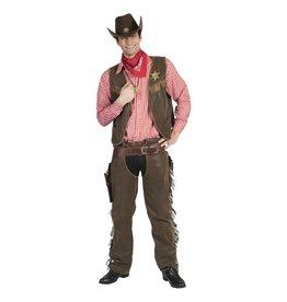 Funny Fashion Cowboy Luke kostuum heren