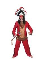 Funny Fashion Indianen kostuum Kiowa heren