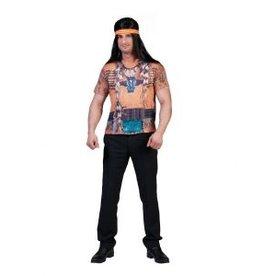 Funny Fashion Indianen 3D-Shirt heren