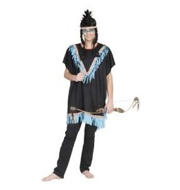 Funny Fashion Indianer Poncho Kajika
