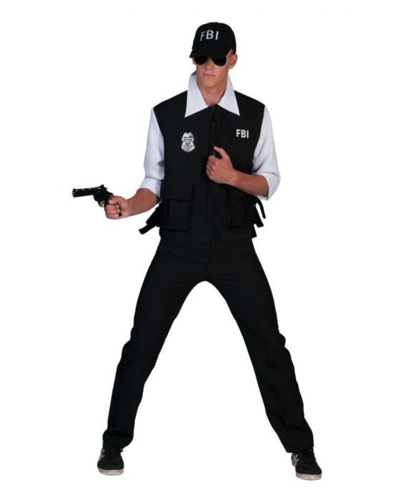 Funny Fashion Amerikaanse FBI Agent Collin kostuum heren