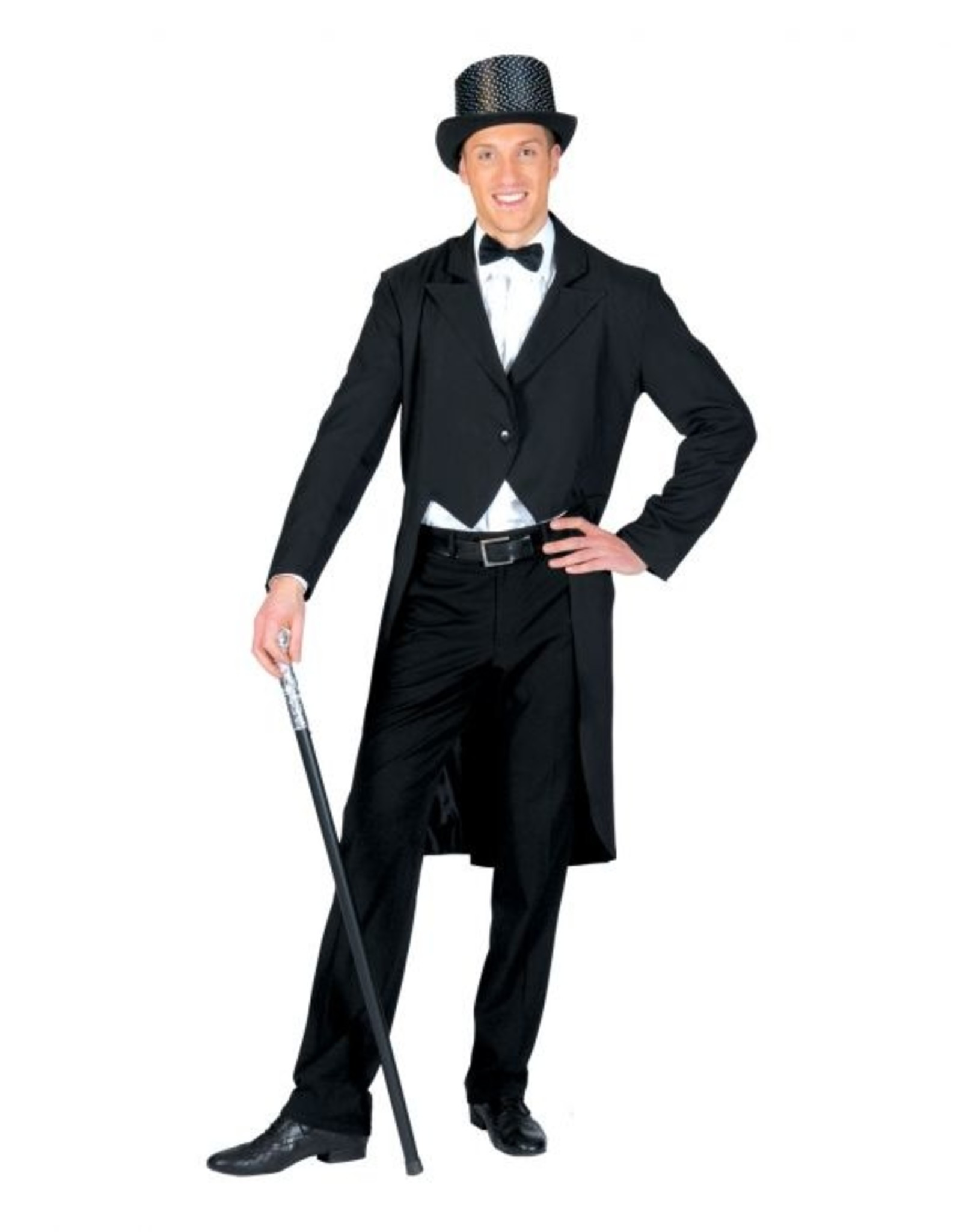 Funny Fashion broadway slipjas zwart heren