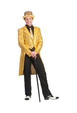 Funny Fashion Charleston pailletten slipjas goud heren