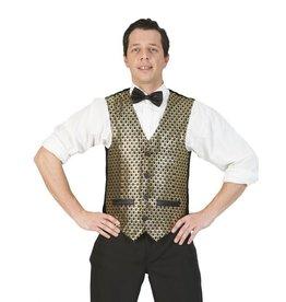 Funny Fashion Charleston vest goud heren