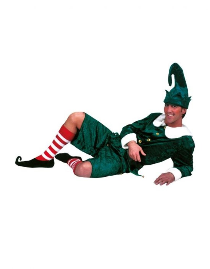 Funny Fashion Elf kostuum Kerstmis heren