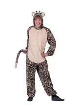 Funny Fashion Giraffe overall heren/dames verkleedkleding