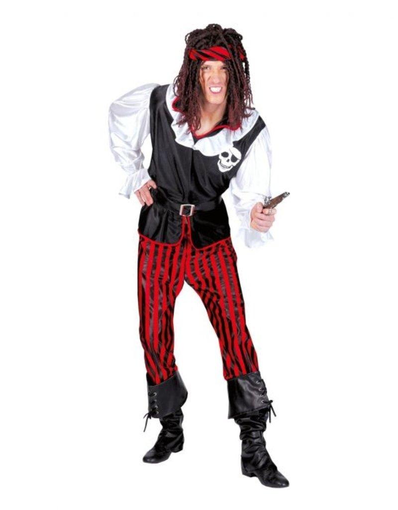 Funny Fashion Piraat Mason kostuum heren