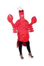 Funny Fashion rood kreeften kostuum