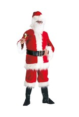 Funny Fashion Kerstman deluxe Rood