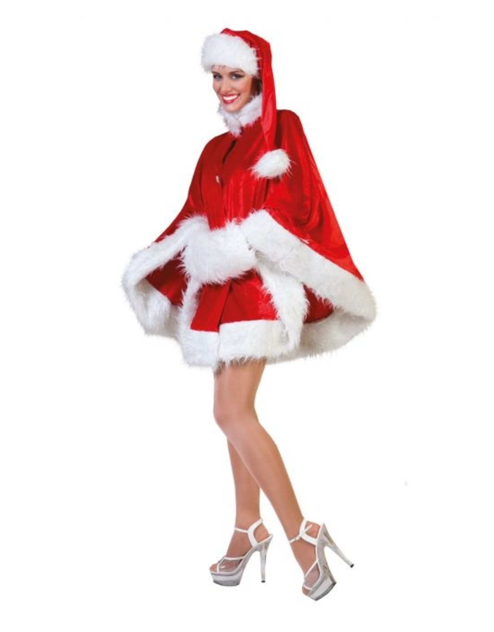 Funny Fashion Kerst Cape dames Nicola