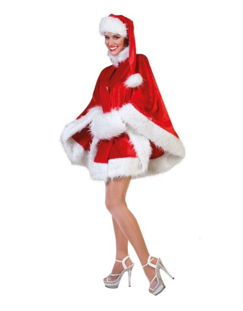 Funny Fashion Kerst Cape dames Nicola