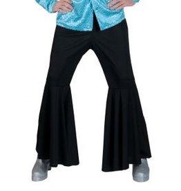 Funny Fashion Hippie broek zwart heren