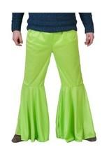 Funny Fashion Hippie groen broek heren