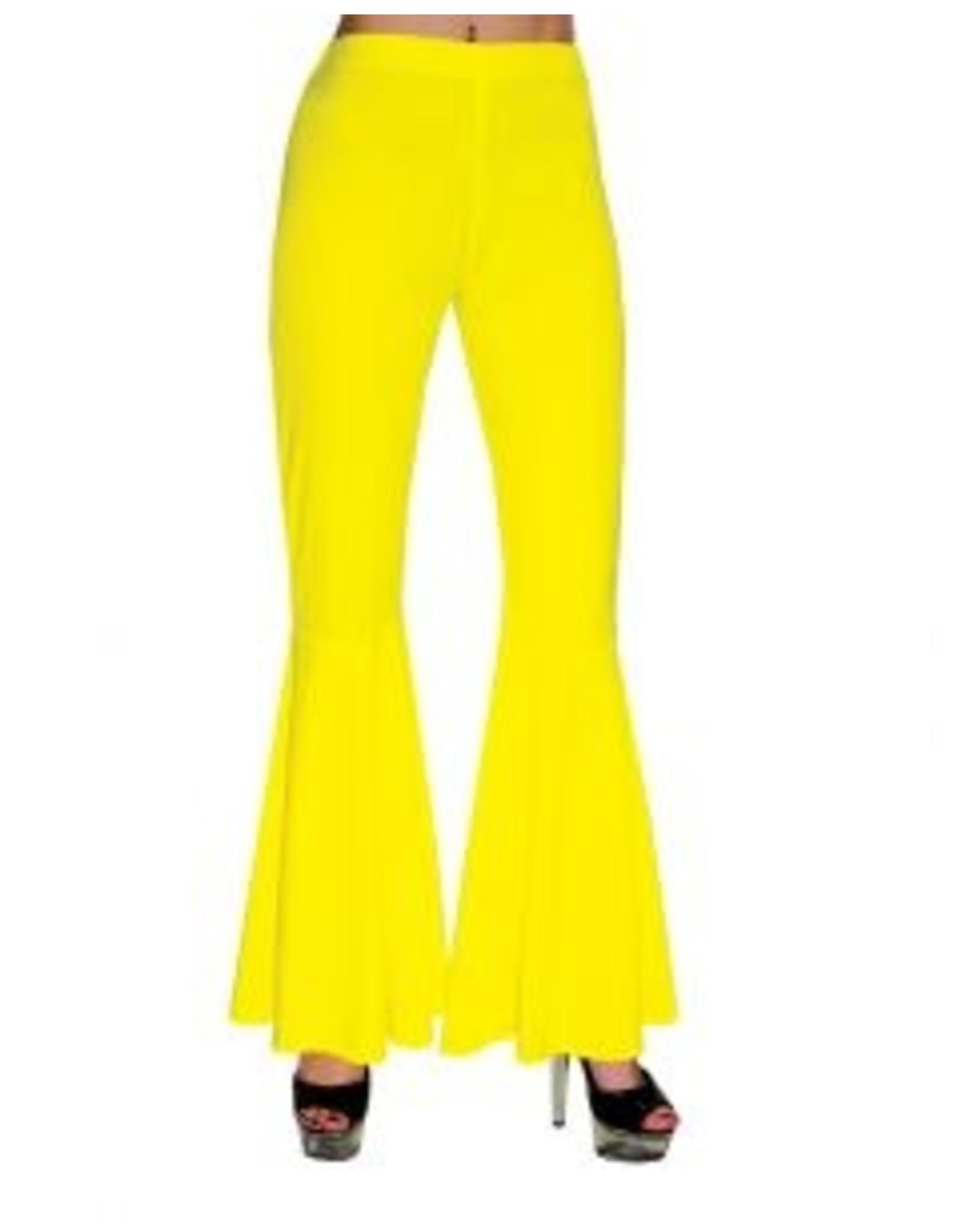 Funny Fashion Hippie Broek kind geel