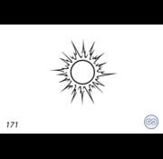 Grafsteenwinkel Afbeelding  zon