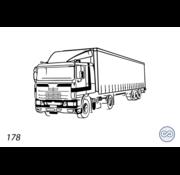 Grafsteenwinkel Afbeelding vrachtwagen