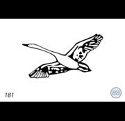Grafsteenwinkel Afbeelding vliegende gans