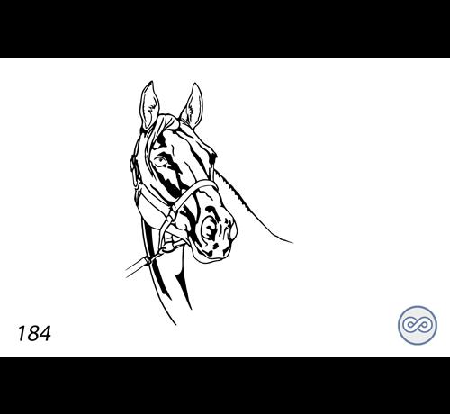Grafsteenwinkel Afbeelding van een paard