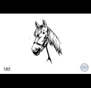 Grafsteenwinkel Afbeelding paard teugel