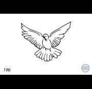 Grafsteenwinkel Afbeelding vredesduif