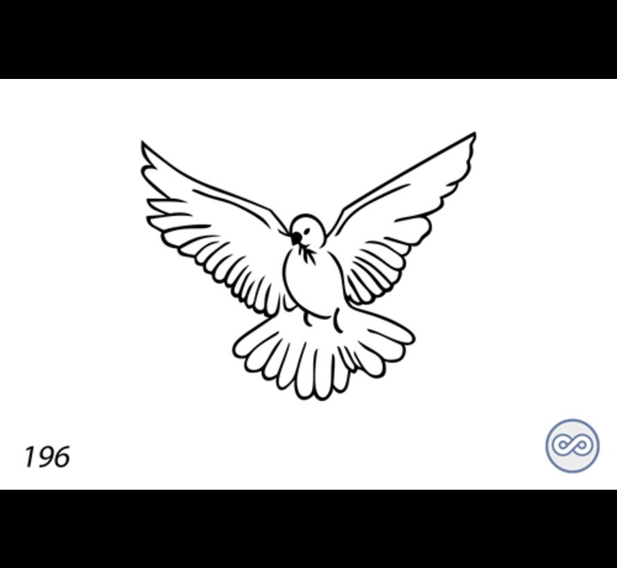 Afbeelding van een vredesduif