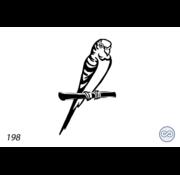 Grafsteenwinkel Afbeelding papegaai
