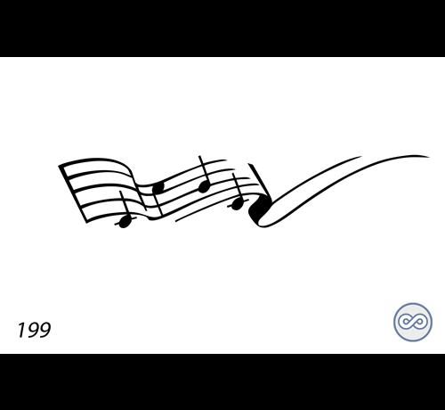 Grafsteenwinkel Afbeelding van een bladmuziek