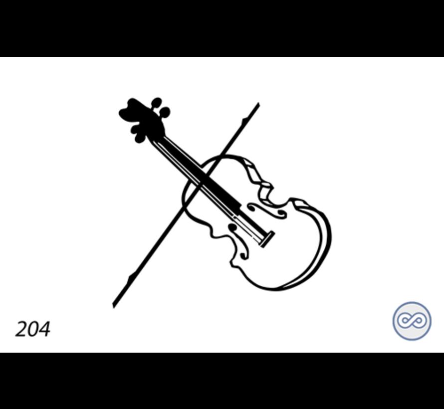 Afbeelding van een viool
