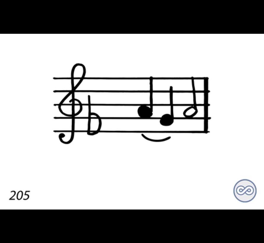 Afbeelding van een muzieknoot