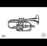 Grafsteenwinkel Afbeelding trompet