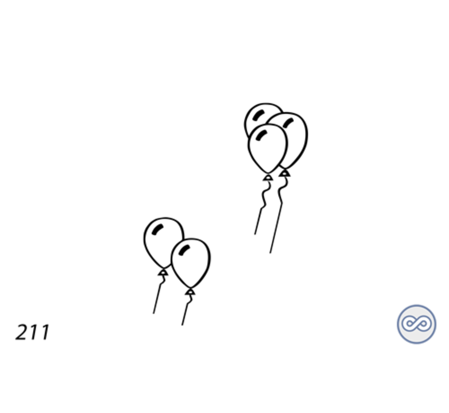 Afbeelding van ballonnen