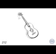 Grafsteenwinkel Afbeelding gitaar