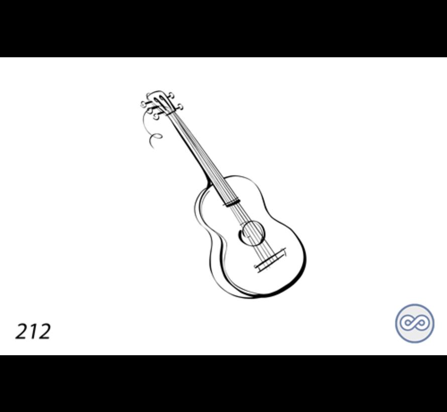 Afbeelding van een gitaar