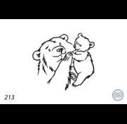 Grafsteenwinkel Afbeelding kleine beer