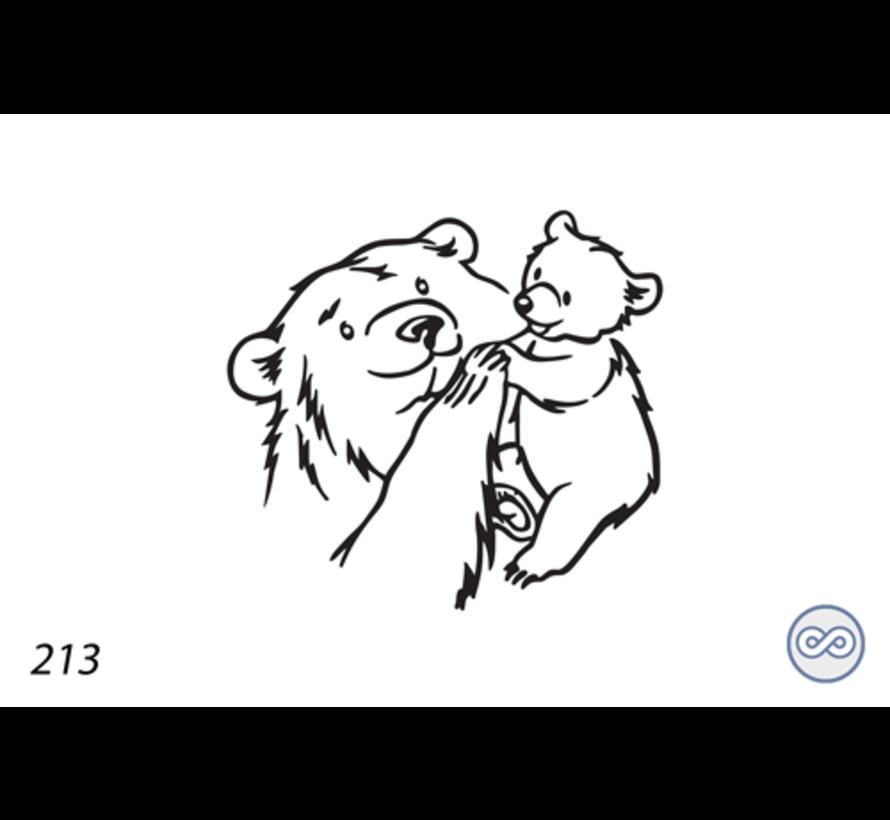 Afbeelding van een kleine beer