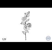 Grafsteenwinkel Afbeelding rozen