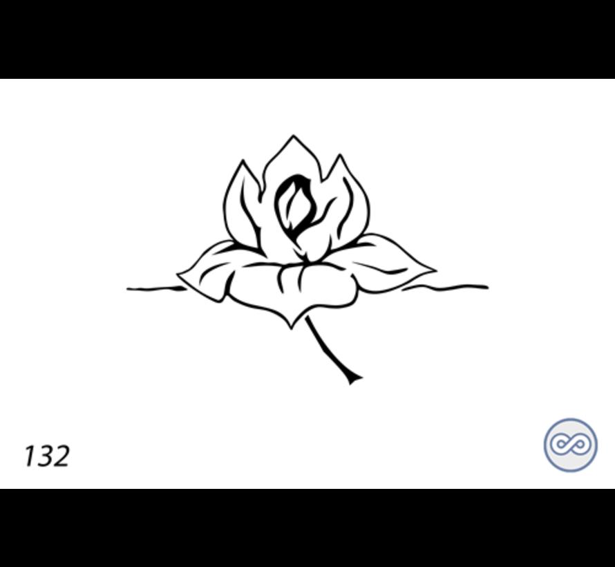 Afbeelding lotus voor op grafsteen